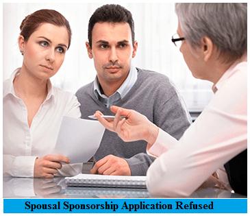 Spousal Sponsorship Application Refused