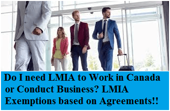 Employers who will not need an LMIA