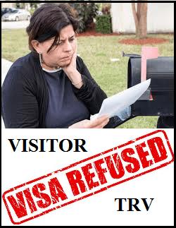 Visitor Visa Denied to Canada