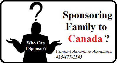 Sponsoring Family to Canada