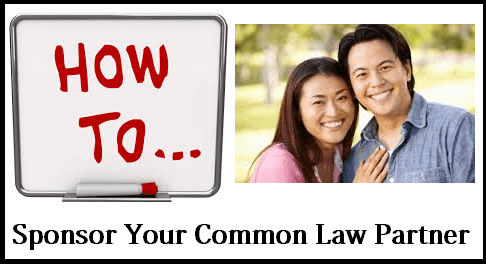 How to Sponsor your Common Law Partner