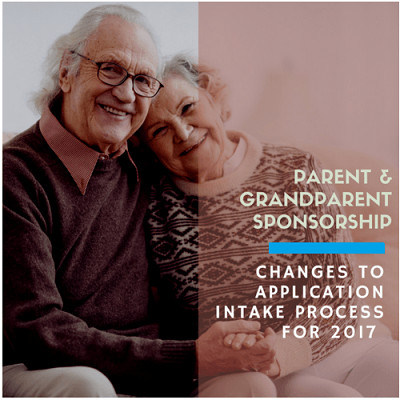 Parents and Grandparents Sponsorship Changes