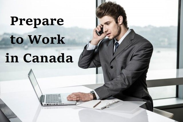 Prepare to Work in Canada