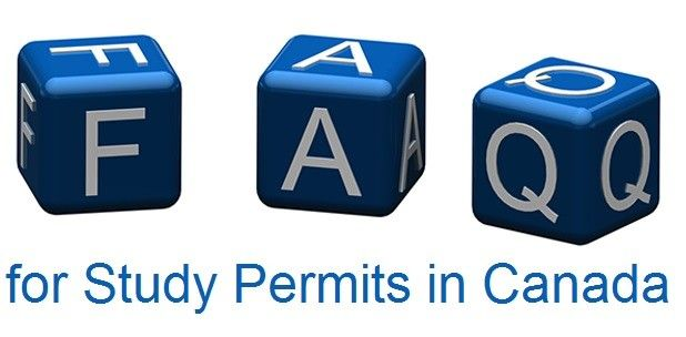 FAQs for Study Permits in Canada