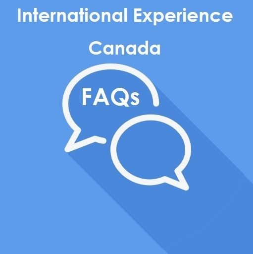 FAQs for International Experience Canada
