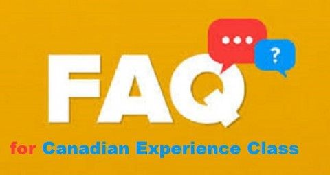 FAQs for Canadian Experience Class