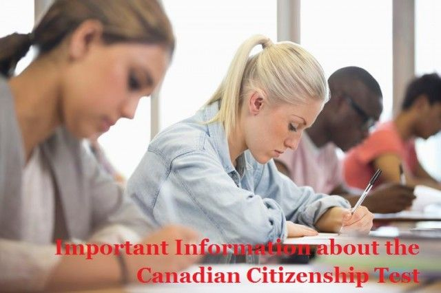 Important Information about the Canadian Citizenship Test