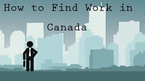 How to Find Work in Canada
