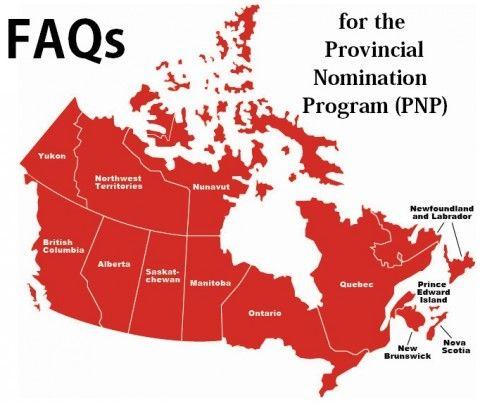FAQs for the Provincial Nomination Program (PNP)
