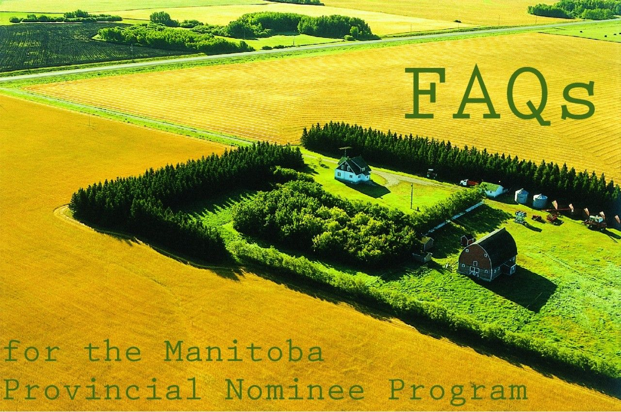 FAQs for the Manitoba Provincial Nominee Program (MPNP)