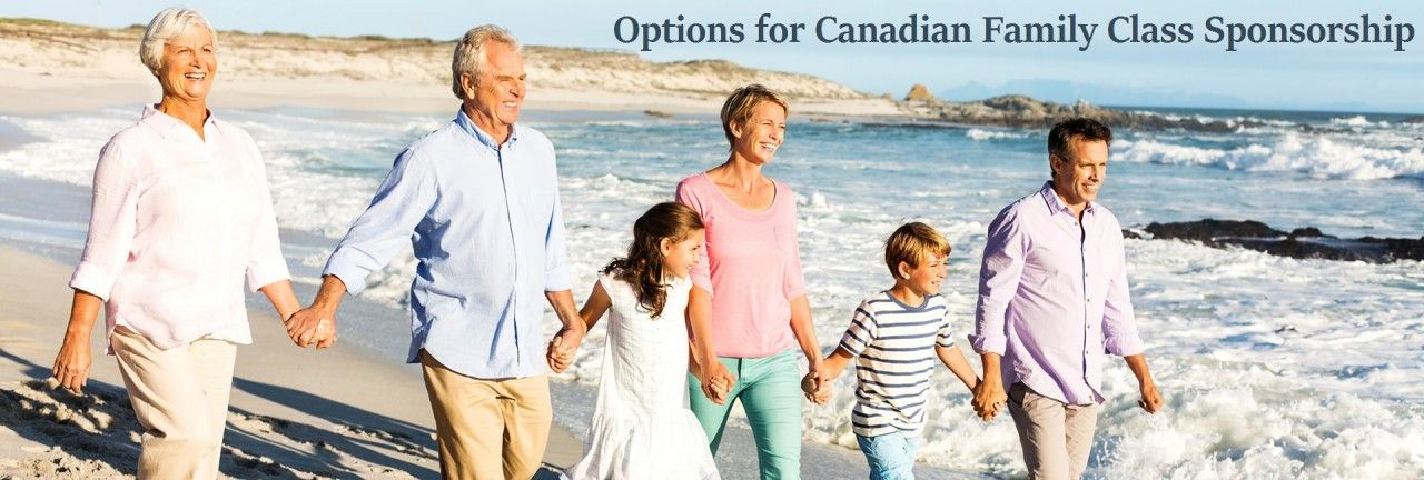 Options for Canadian Family Class Sponsorship