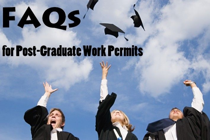 FAQs for Post-Graduate Work Permits