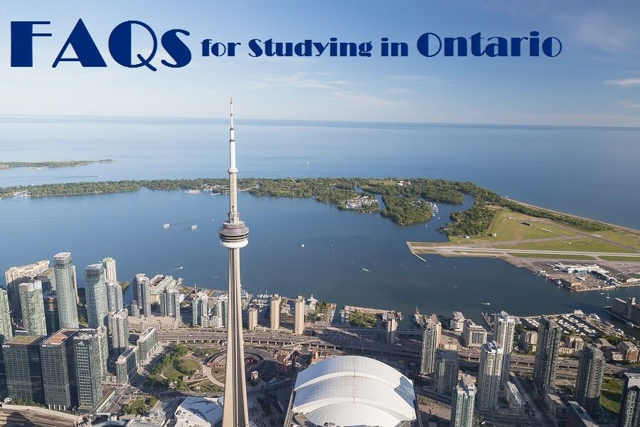 FAQs for Studying in Ontario