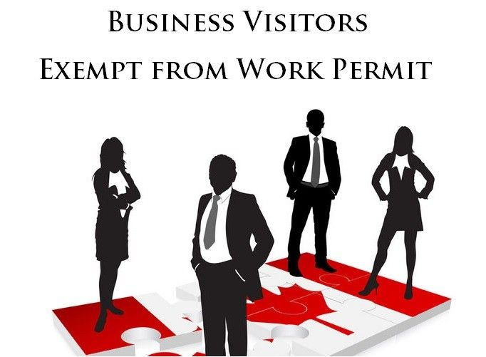 Business Visitors Exempt from Work Permit