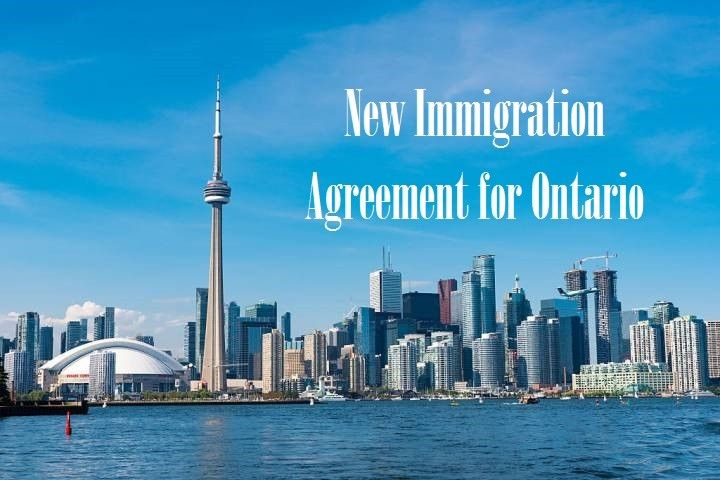New Immigration Agreement for Ontario