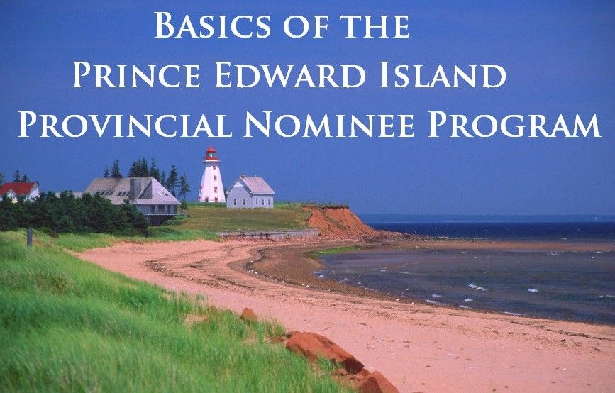 Basics of the Prince Edward Island Provincial Nominee Program