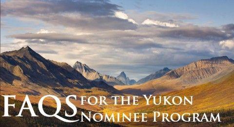 FAQs for the Yukon Nominee Program (YNP)