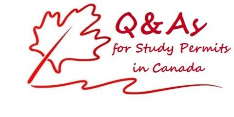 Q&As for Study Permits in Canada