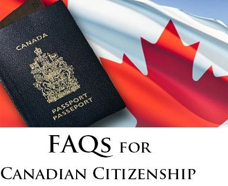 FAQs for Canadian Citizenship