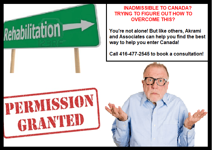 Overcoming Inadmissibility to Canada