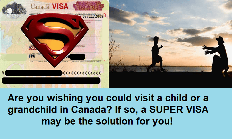 Applying For A Canadian Super Visa
