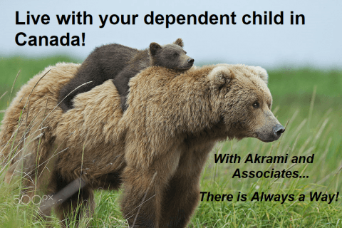 Live With Your Dependent Child in Canada