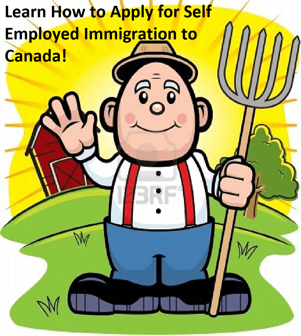 Learn about Self-Employed Immigration