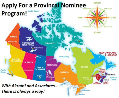 Apply for a Provincial Nominee Program