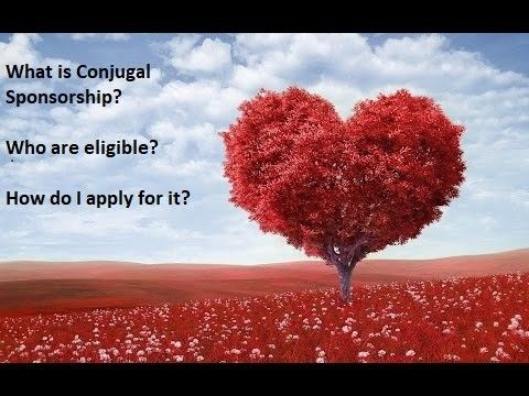 What is a Conjugal Sponsorship