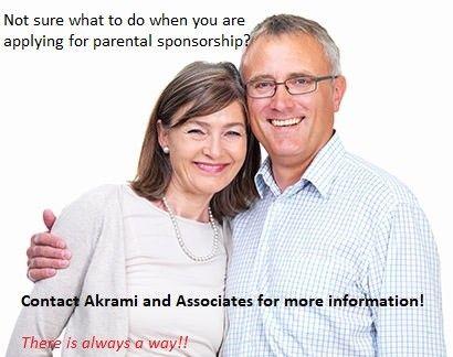 Applying for Parental Sponsorship (No more Lottery System)