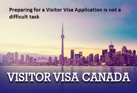 Preparing for a Visitor Visa Application