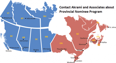 Application Process for Provincial Nominee Programs