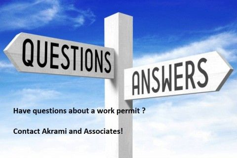 Questions and Answers for Work Permits
