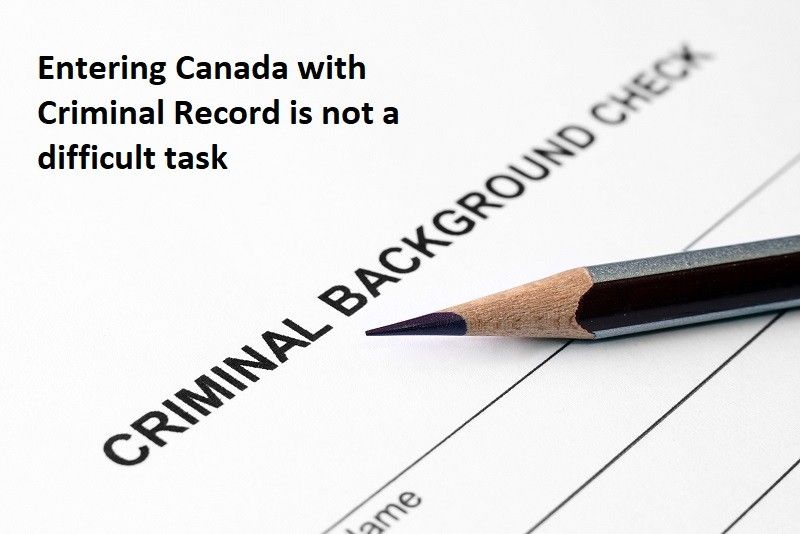 Can I Come to Canada with Criminal Record