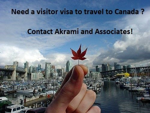 Visiting Canada with a Visitor Visa