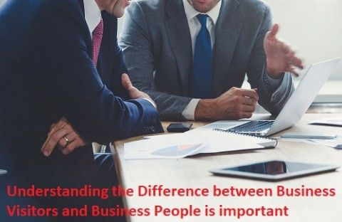 The Difference between Business People and Business Visitors