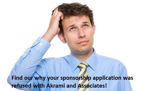 Why was Your Sponsorship Application Refused
