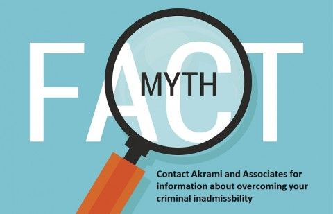 Common Myths about Criminal Inadmissibility to Canada