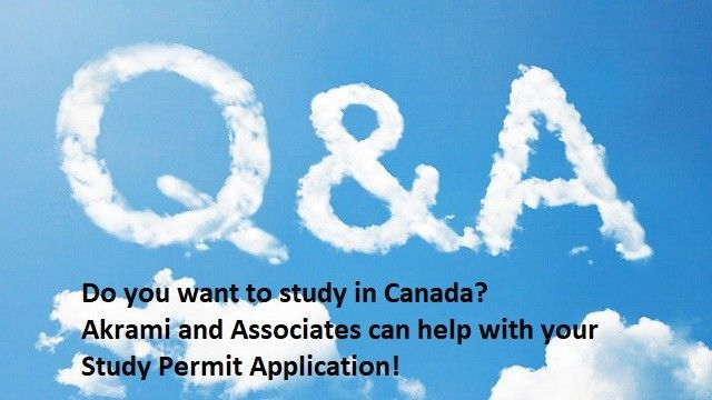 Study Permit Q and A