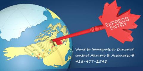 Move to Canada through Express Entry