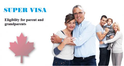 Super Visa Eligibility for Parent and Grandparents