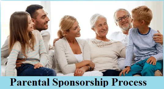 Parental Sponsorship Process