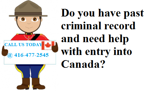 Temporary Resident Permit for Persons with Inadmissibility Issue to Canada