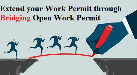 Extend your Work Permit through Bridging Open Work Permit