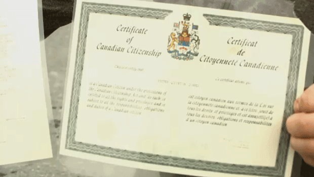 Applying for Certificate of Canadian Citizenship