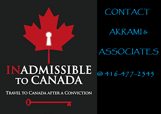 Criminal Rehabilitation to Overcoming Inadmissibility Issue to Canada