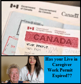 How to Renew the Live in Caregiver Work Permit - Canadian