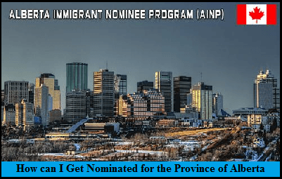 How can I Get Nominated for the Province of Alberta