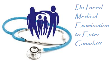 Who needs a Medical Examination to travel to Canada