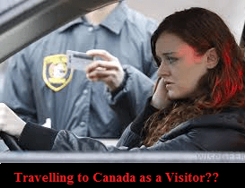 What are the requirements when travelling as a visitor to Canada
